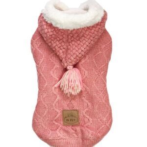 polar sweater pink
