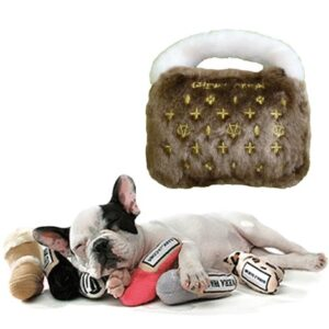 luxury chewy vuiton bag