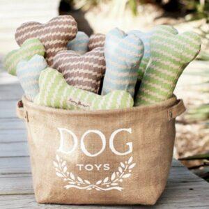 dog toys aufbewahrungsbox beige
