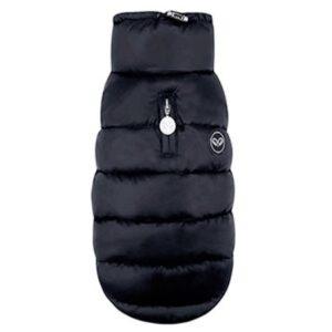 puppy angel padded vest schwarz