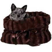 hundetasche snuggle pugs chocolat