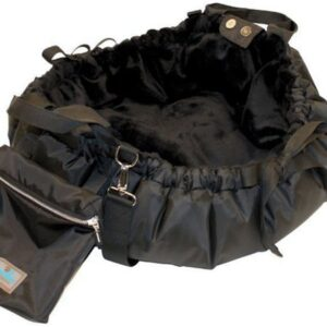napidoo hundetasche schwarz