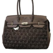rose dogs of glamour hundetasche in chocolat