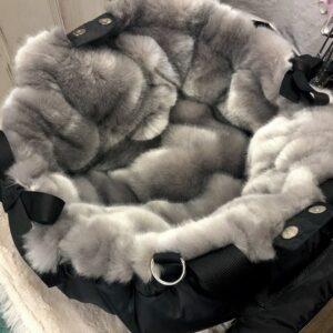 black grey luxury napidoo round