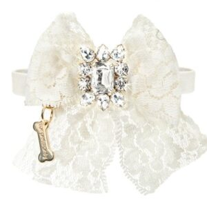 cocktail party collar white