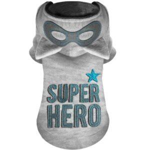 hunde hoodie super hero