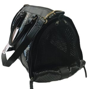 luxury sommer hundetasche black beauty