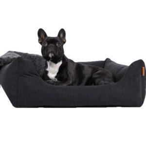 comfort hundebett schwarz