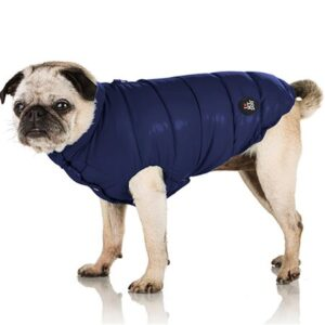 daunen jacke von i love my dog dark blue