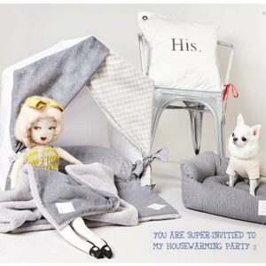 louisdog egyptian cotton hundehaus