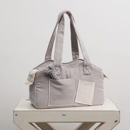 organic bag grey von louisdog