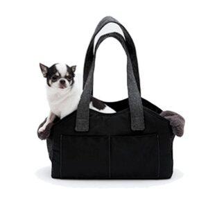 viva bag four louisdog black