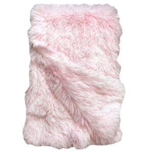 kuscheldecke fluffy rosa