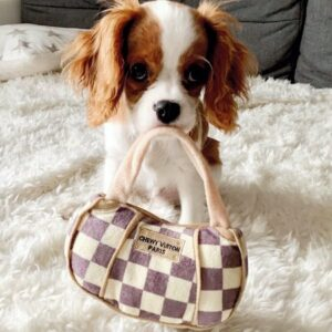 luxury toy chewy vuiton bag