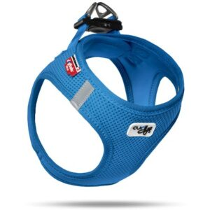 curli vest air mash blue