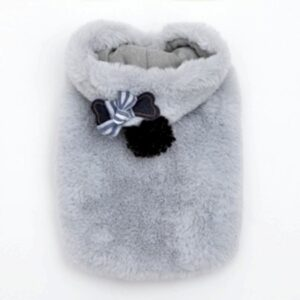 louisdog teddy coat blueglass