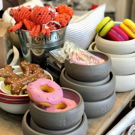 hundespiele macarons, donut und co.