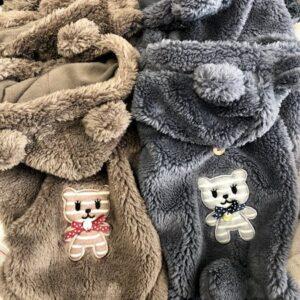 teddy hoodie chocolat
