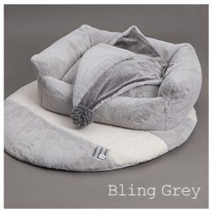 louisdog egyptian cotton boom bling grey