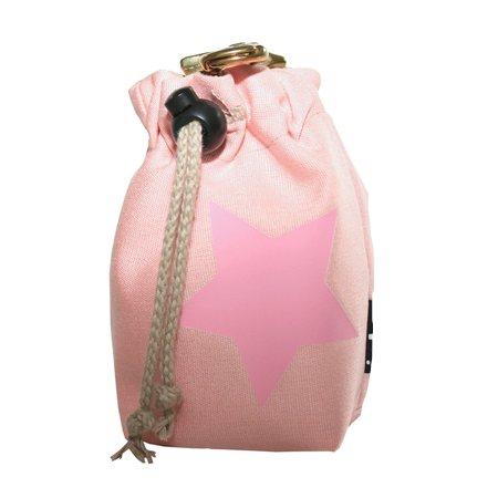 leckerlibeutel pink mit pink stern