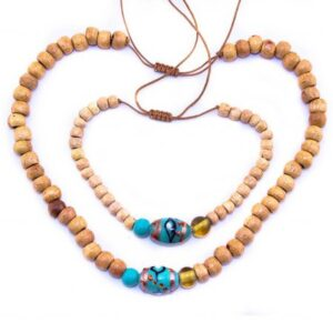blue moon ibiza halsband wood