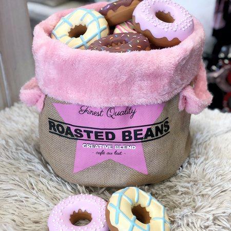 dog toy aufbewahrungsbox pink