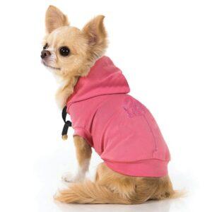 hunde hoodie flamingo in pink