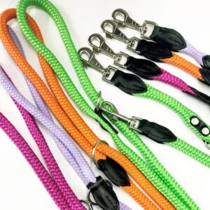 my rope leash neon hundeführerleine