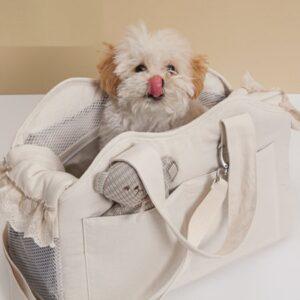 organic bag ecru von louisdog