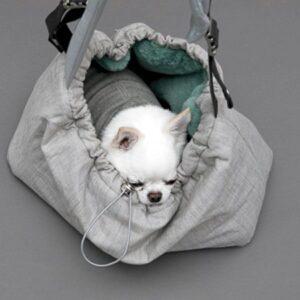 louisdog winter magic bag beige