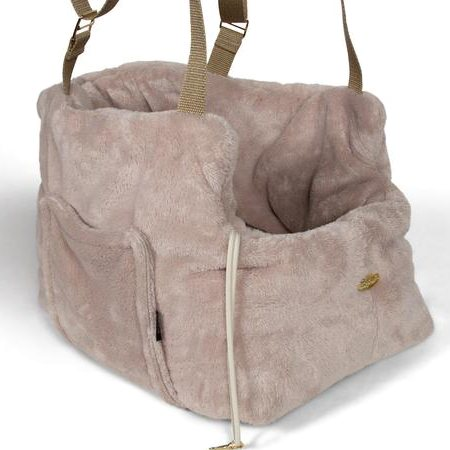 teddy bear bag beige