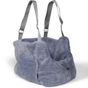 teddy bear bag grey