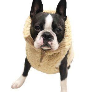 hunde fleece veste von i love my dog cream