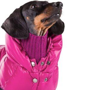 daunen jacke von i love my dog amethyst
