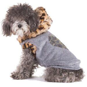 hunde hoodie leopard von i love my dog
