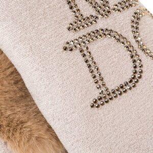 hunde hoodie love u forever champagne