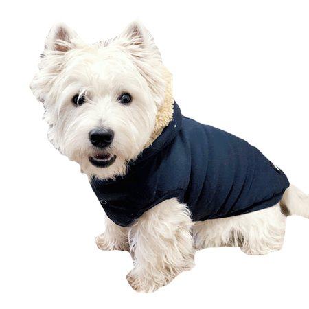 hunde hoodie navy blau von i love my dog