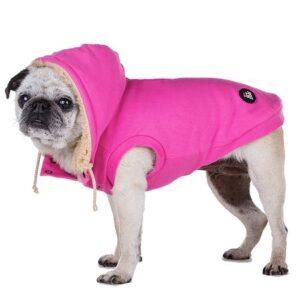 hunde hoodie pink von i love my dog