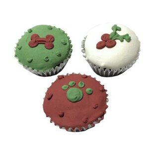 mini cupcakes xmas