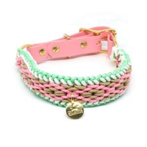 hundehalsband pink lady