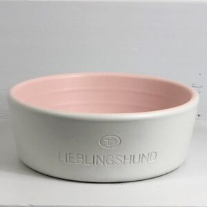 lieblingshund napf rosa