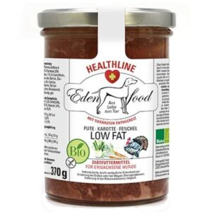 eden food bio healthline low fat hundemenu pute