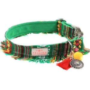 halsband boho green