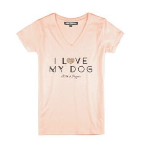 i love my dog woman shirt
